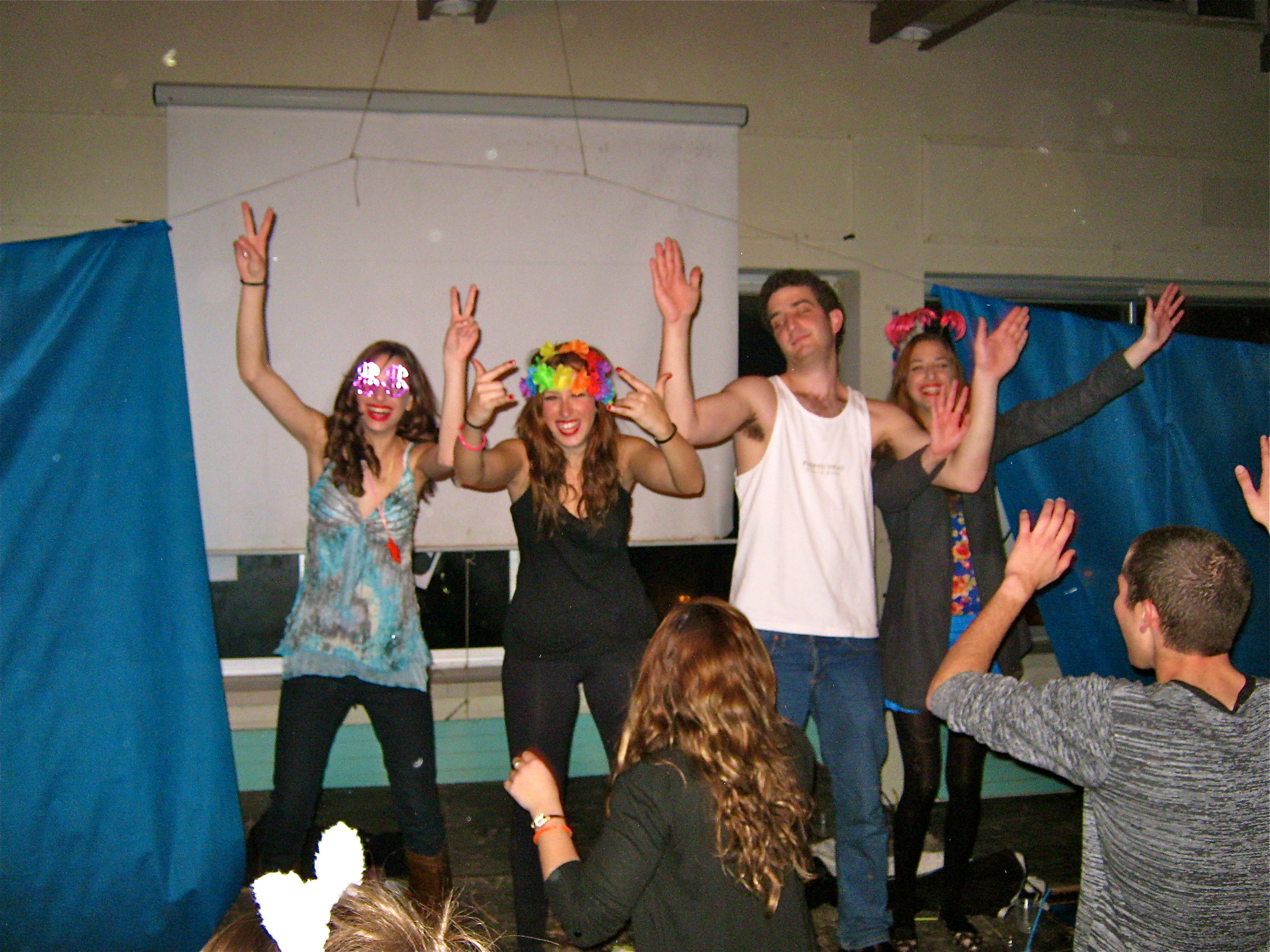 Maale Hachamisha Israel  City new picture : This weekend was the Purim Party at Kibbutz Ma'ale Hachamisha,